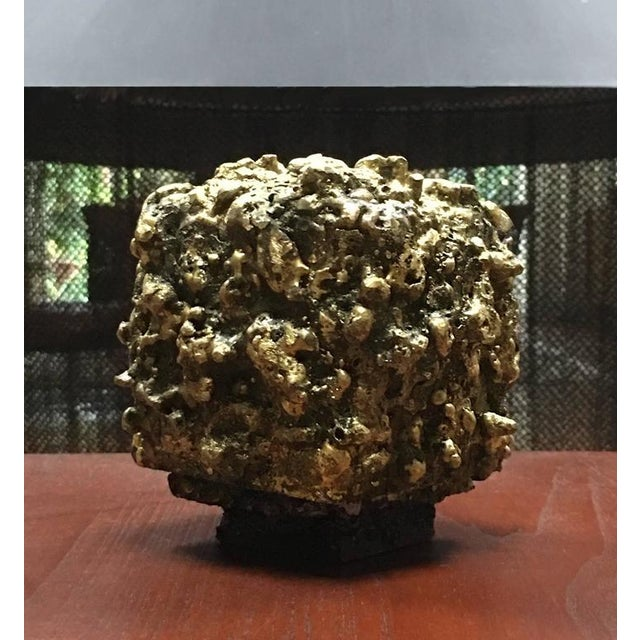 "James Bearden Steel and Bronze ""Barnacle Box"" Sculpture/Trinket Box For Sale - Image 10 of 10"