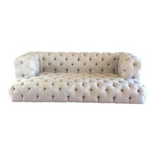 Custom Tufted Chesterfield Style Sofa For Sale