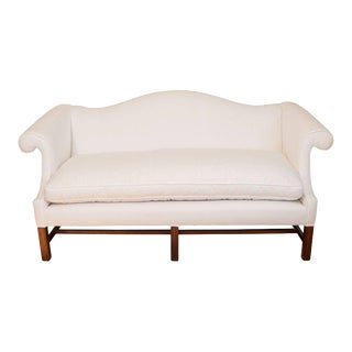 Vintage Camel Back Loveseat