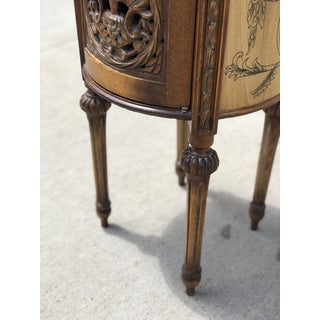 1920s French Provincial Hand Carved Wooden Side Table Preview