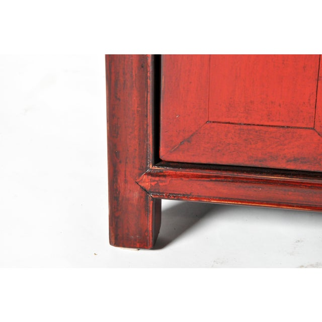 Late 19th Century Chinese Bed Side Chests - a Pair For Sale - Image 10 of 11