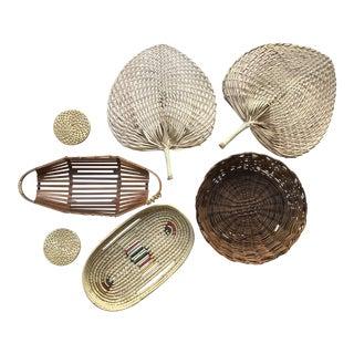 Wall Hanging Baskets - Set of 7