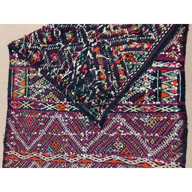 1950s Moroccan African Zemmour Ethnic Textile Rug For Sale - Image 11 of 13
