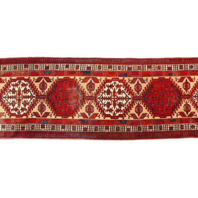 "Persian Pasargad N Y Antique Persian Serab Wool Runner Rug - 3'2"" X 11'3"" For Sale - Image 3 of 5"
