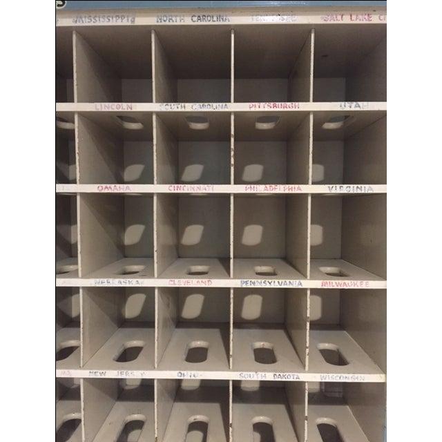 Vintage Postal Cabinet - Image 6 of 11