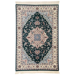 Late 20th Century Persian Style Tabriz Design Rug - 5′9″ × 8′9″ For Sale