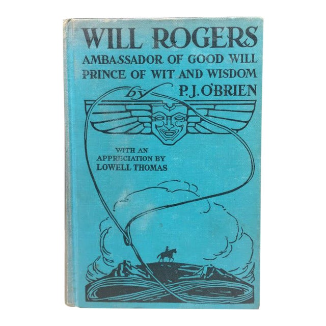 Will Rogers by P.J. O'Brien c.1935 For Sale