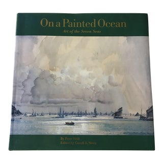 "1990s Nautical ""On a Painted Sea (Art of the Seven Seas)"" Maritime Art Book"