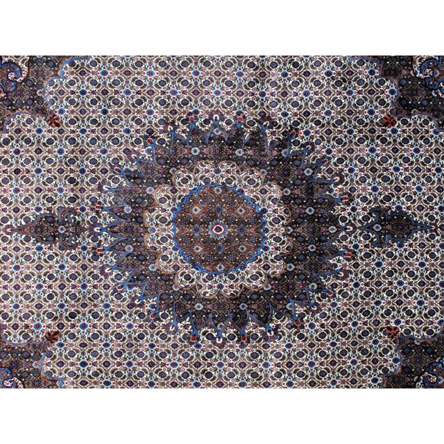 "Leon Banilivi Persian Mood Carpet - 10'2"" X 13'5"" For Sale - Image 4 of 7"