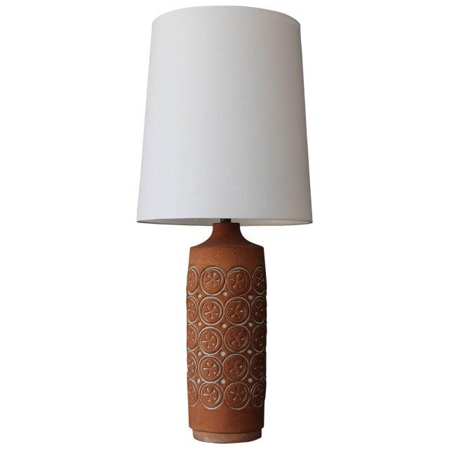 Vintage Ceramic Lamp, 1960s For Sale