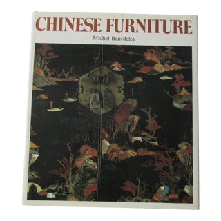 Chinese Furniture Hard Cover Book For Sale