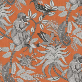 Cole & Son Savuti Classic Wallpaper Sample For Sale