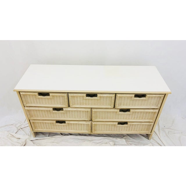 Vintage Hollywood Regency Style Dresser For Sale In Raleigh - Image 6 of 10
