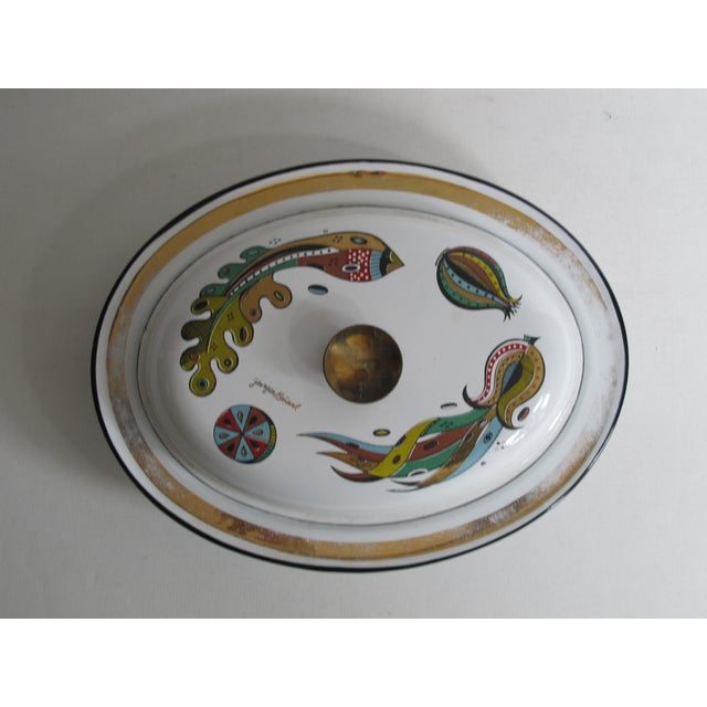 Georges Briard Lidded Dish - Image 2 of 6