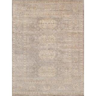 "Pasargad Oushak Bamboo Silk Rug - 9'1"" X 11'8"" For Sale"