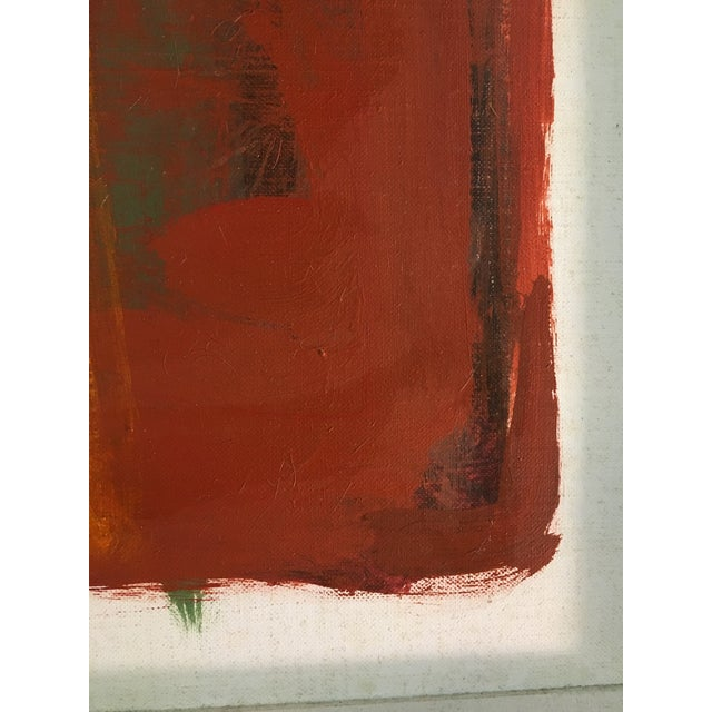 Mid-Century Modern Vintage Mid-Century Judith Bledsoe Still Life Painting For Sale - Image 3 of 5