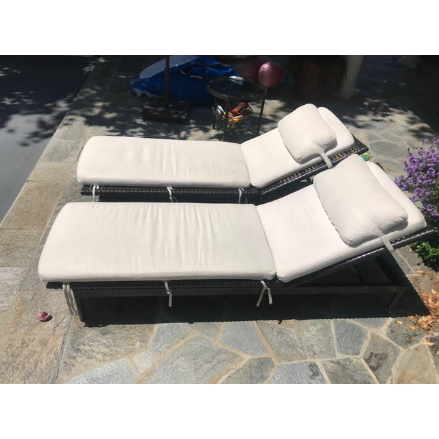McGuire Antalya Chaise Lounges-a Pair For Sale - Image 13 of 13