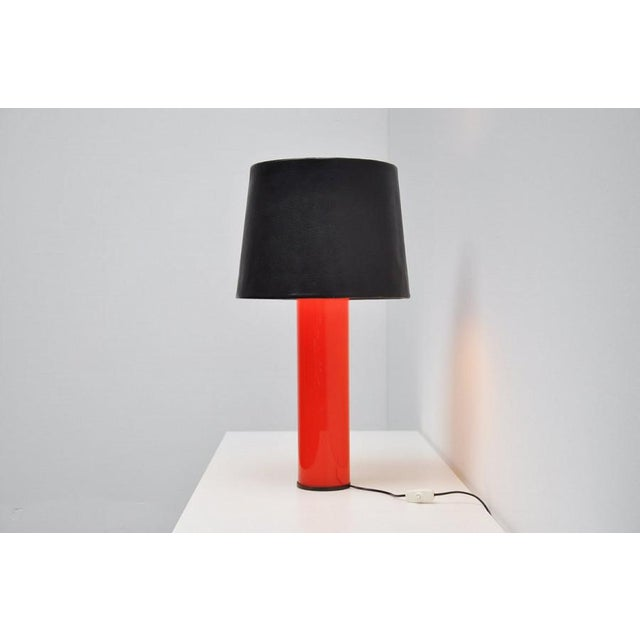 Uno Osten Kristiansson Luxus table lamp Sweden 1960 - Image 4 of 5