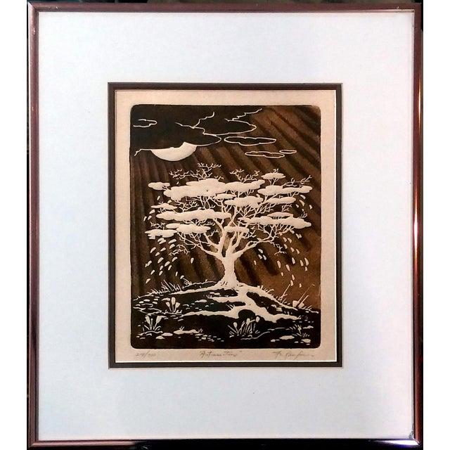 Al Kaufman Intaglio Etchings - A Pair - Image 2 of 10