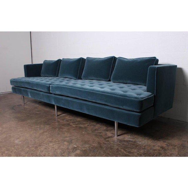Edward Wormley for Dunbar Sofa Model 4907A For Sale - Image 10 of 11