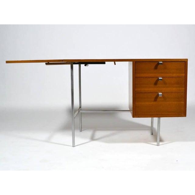George Nelson Model 4754 Drop Leaf Desk by Herman Miller For Sale - Image 10 of 10