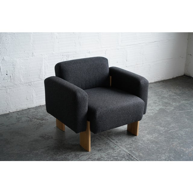 Modern Billow Lounge Chair For Sale - Image 4 of 7