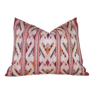 Lao Silk Naga Motif Pillow Cover For Sale
