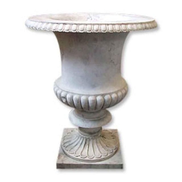 Italian Marble Vase Planter Urn For Sale - Image 3 of 3