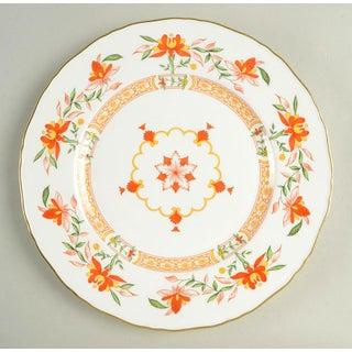 1970s Royal Worcester Chamberlain Orange Dinner Plates - Set of 8 Preview