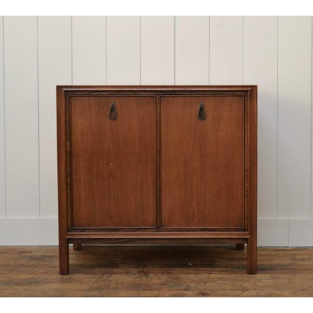 Metal John Stuart Two Door Cabinet For Sale - Image 7 of 7
