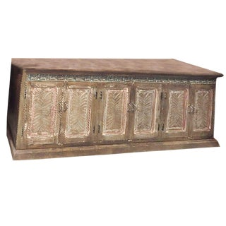 Antique Rustic Farmhouse Buffet or Sideboard For Sale