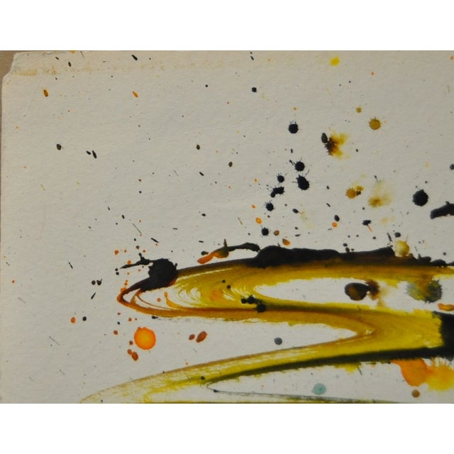 Vintage Abstract Watercolor by Irma Magid - Image 3 of 4