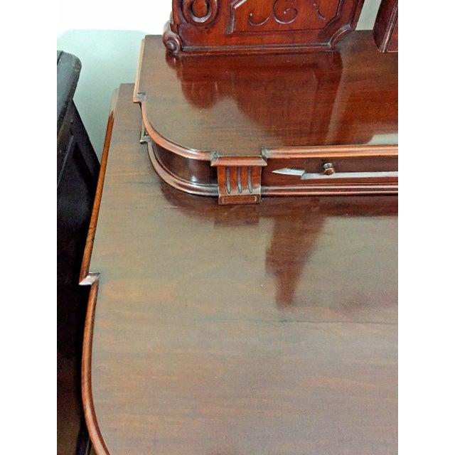 Brown 19th Century Victorian Mahogany Duchess Dressing Table For Sale - Image 8 of 12
