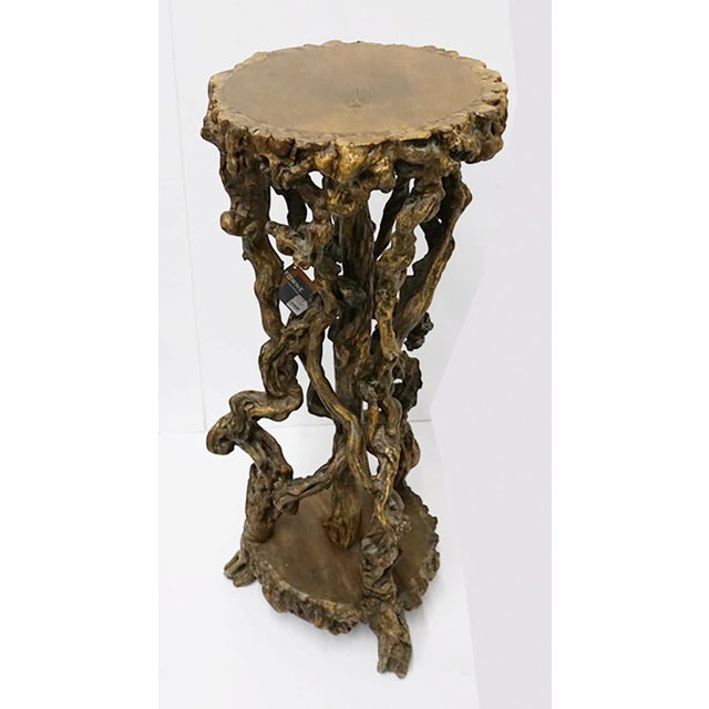 Wood Chinese Antique Root Pedestal For Sale - Image 7 of 7