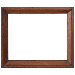 20th Century Italian Oak Wood Frame For Sale