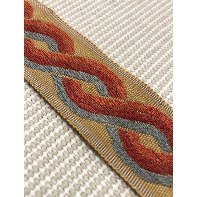 This band from Classical Elements has a classic red, blue, and orange braid pattern. It makes a beautiful embellishment on...