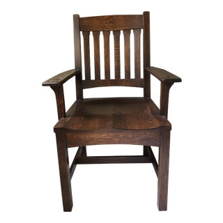 Stickley Mission Cottage Arm Chair For Sale