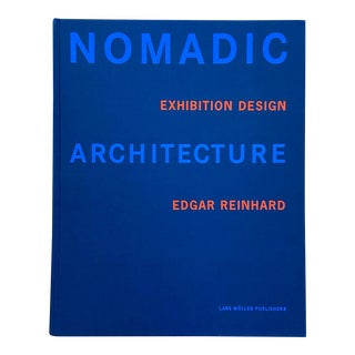 Nomadic Architecture Exhibition Design Book For Sale