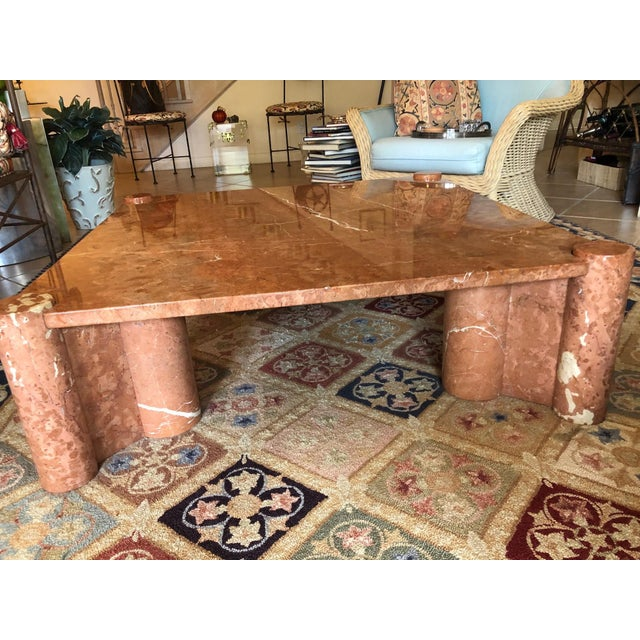 Knoll International Marble Coffee Table - Vintage, Mid-Century For Sale In Los Angeles - Image 6 of 10