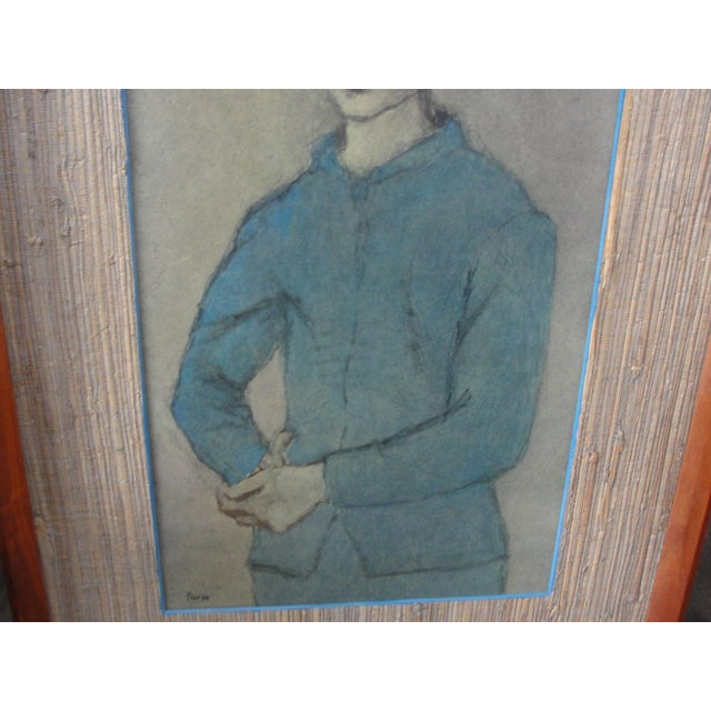 Vintage Lithograph Blue Boy by Pablo Picasso For Sale In Tampa - Image 6 of 11