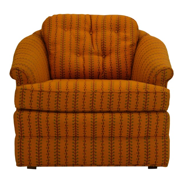 1960s Kay Lambeth for Erwin-Lambeth Club Lounge Bucket Chair For Sale
