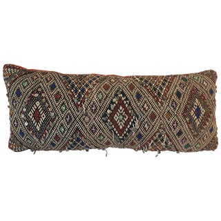 Moroccan Berber Tribal Bolster Pillow For Sale
