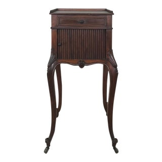Antique Country French Nightstand For Sale