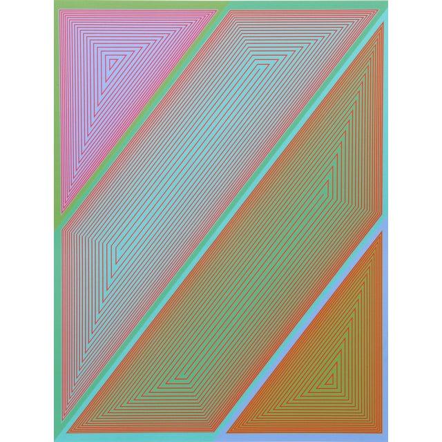 Richard Anuszkiewicz, #2 From Inward Eye Portfolio Silkscreen For Sale