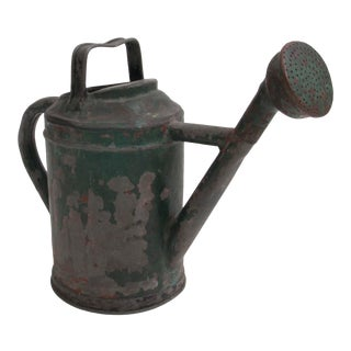 English Metal Watering Can For Sale