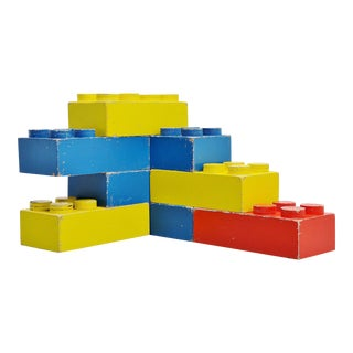 Large Decorative Lego Cubes Holland 1960 For Sale