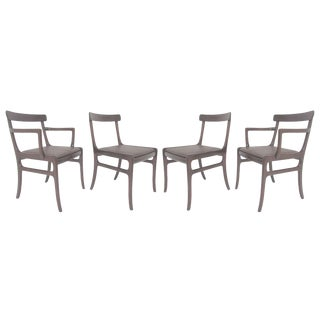 Set of Four Danish Dining Chairs by Ole Wanscher, Circa 1960s For Sale