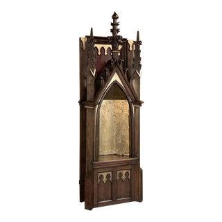 19th Century Gothic Shrine For Sale