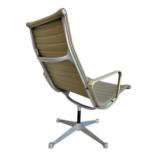 Early Eames Aluminum Group Swivel Chair For Sale