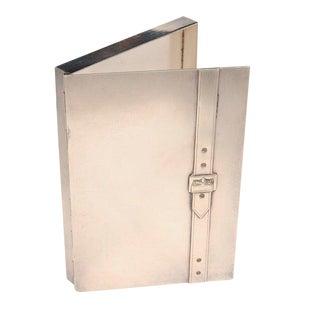 1960s Vintage Maria Pergay Cigarette Box